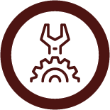Mechanical icon