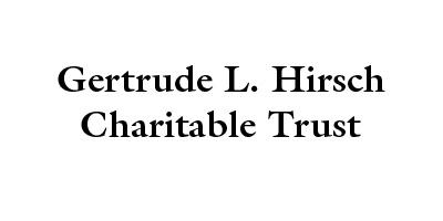 Gertrude L. Hirsch Charitable Trust logo