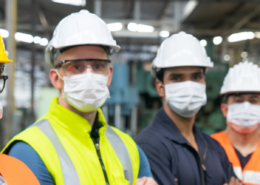 Manufacturing plant tackling covid-19 challenges