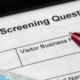 COVID-10 screening questionnaire