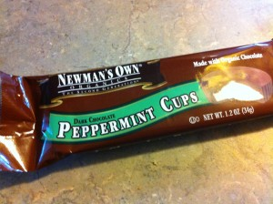 Newman's Own Organics Peppermint cup