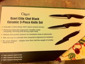 Ozeri Knife Set