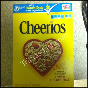 Cheerios Family Breakfast Project