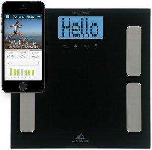 Weight Gurus Smartphone Tracking Digital Body Fat Scale