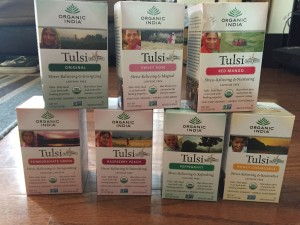 Organic India Tulsi teas