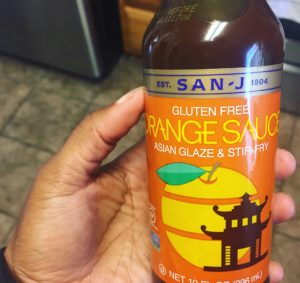 San-J orange chicken