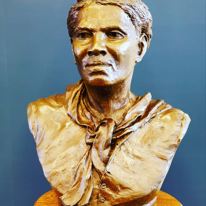 Harriet Tubman bust