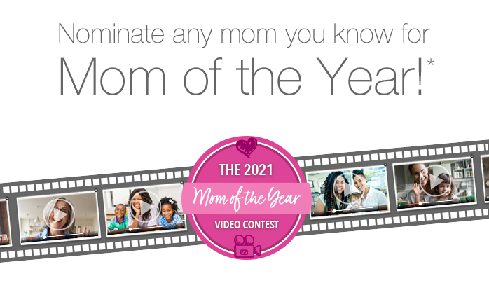 Mother's Day mom of the year contest