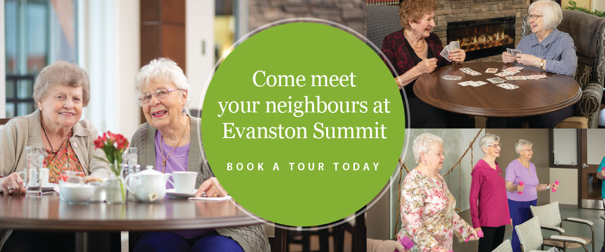 Come meet your neighbours at Evanston Summit