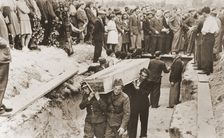 Funeral after the Pogrom