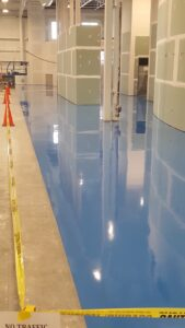 concrete floor painting