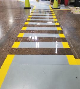industrial concrete floor refinishing