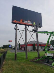 billboard painting