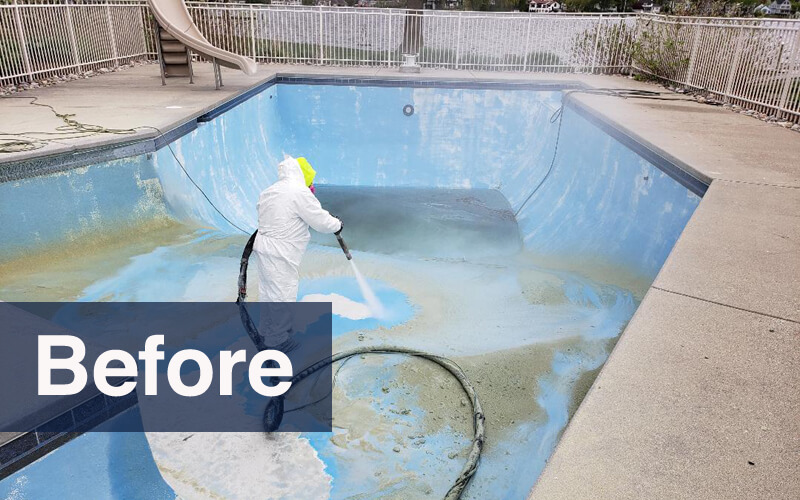 professional pool restoration