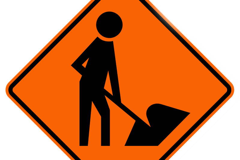 Tahoe City Road Work