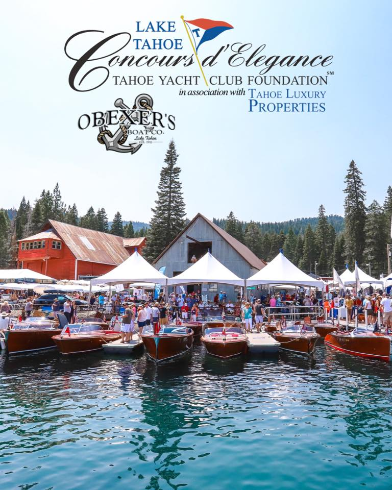 47th Annual Lake Tahoe Concours Delegance Tahoe City Downtown