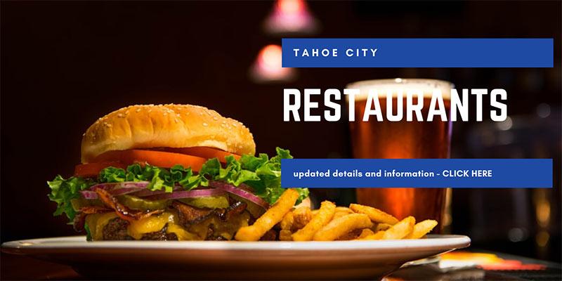 Tahoe City Restaurant Information