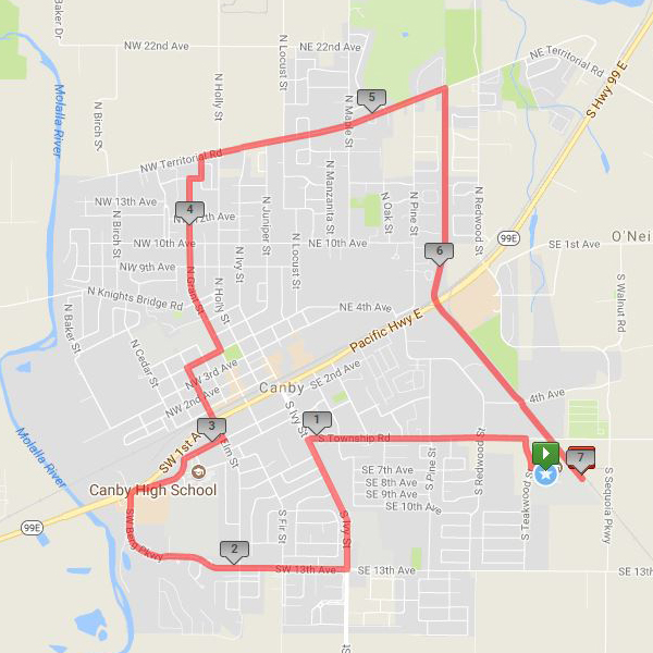 Canby: 7 mile