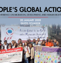 Peoples Global Action on Migration Development and Human Rights (PGA) 2020