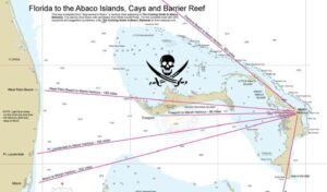 Florida to Abaco Chart