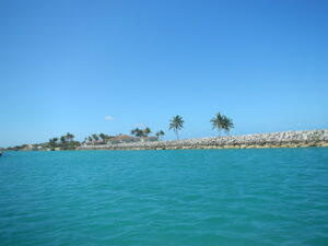 Entering Old Bahama Bay, West End, Grand Bahama