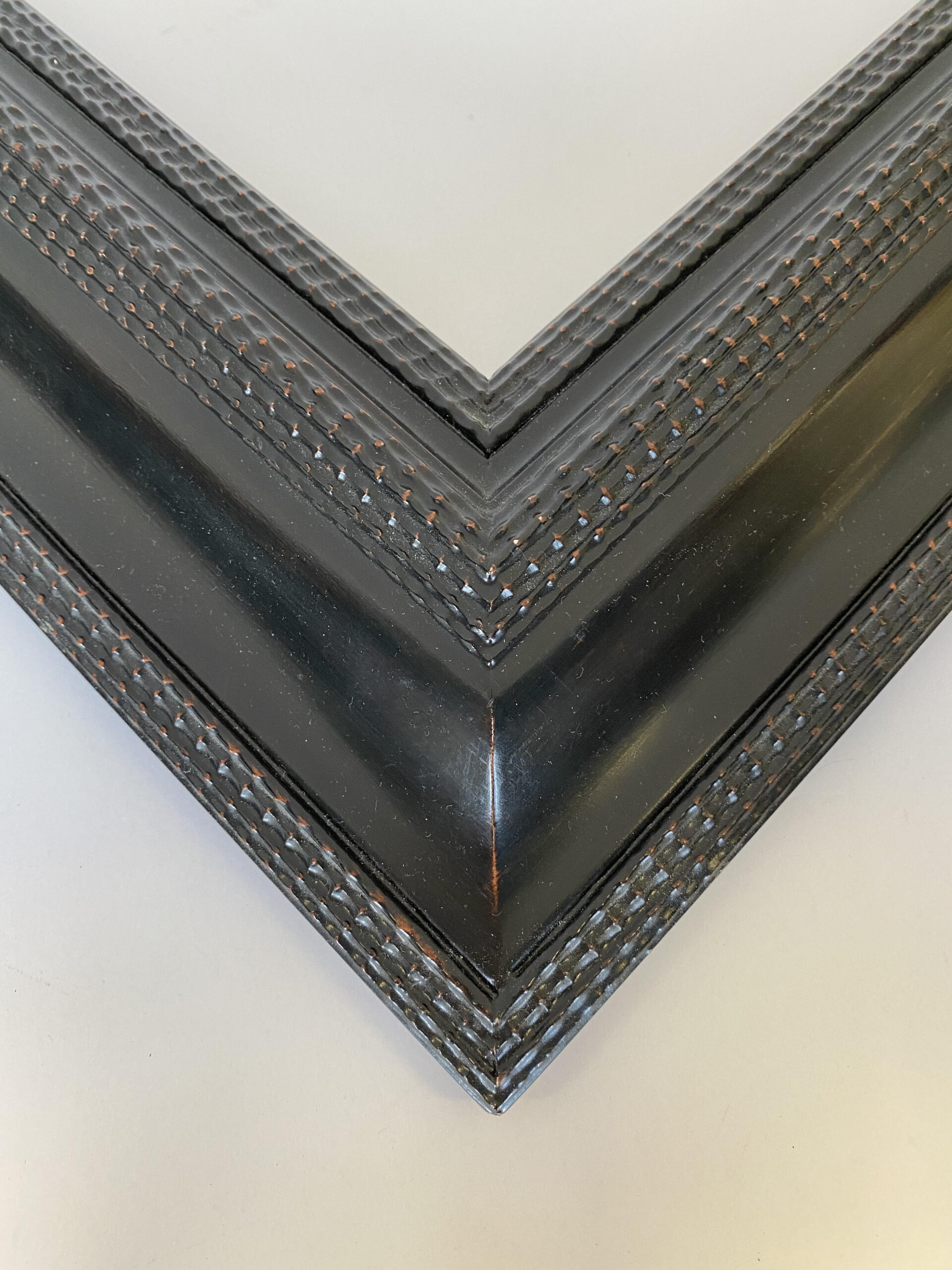 Double ripple Dutch frame. 5 inches wide. Artifact Services Custom framing, Artmill Group Chicago