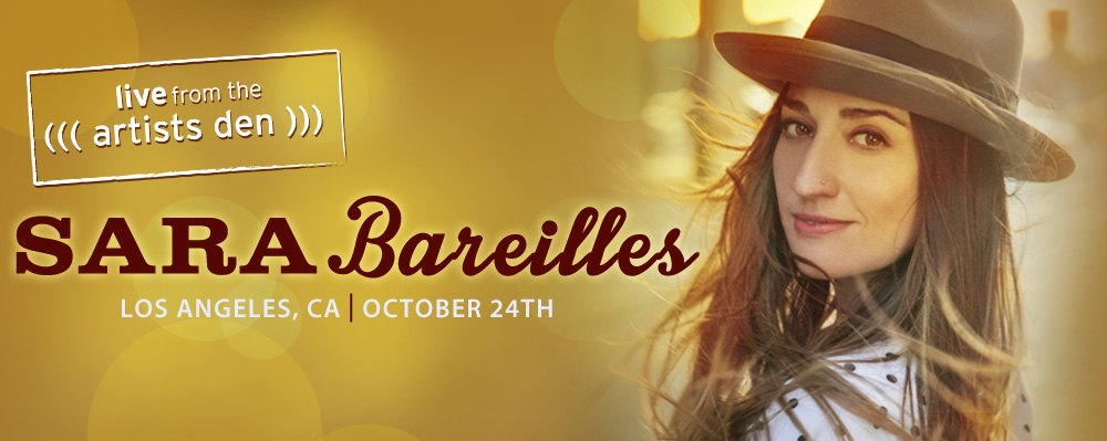 Sara Bareilles LIVE at The Artists Den