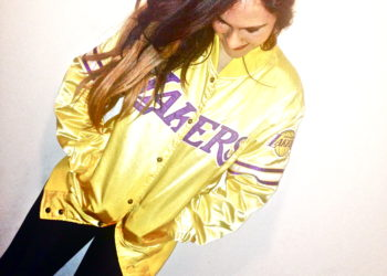 One of a kind Lakers jacket! So major!