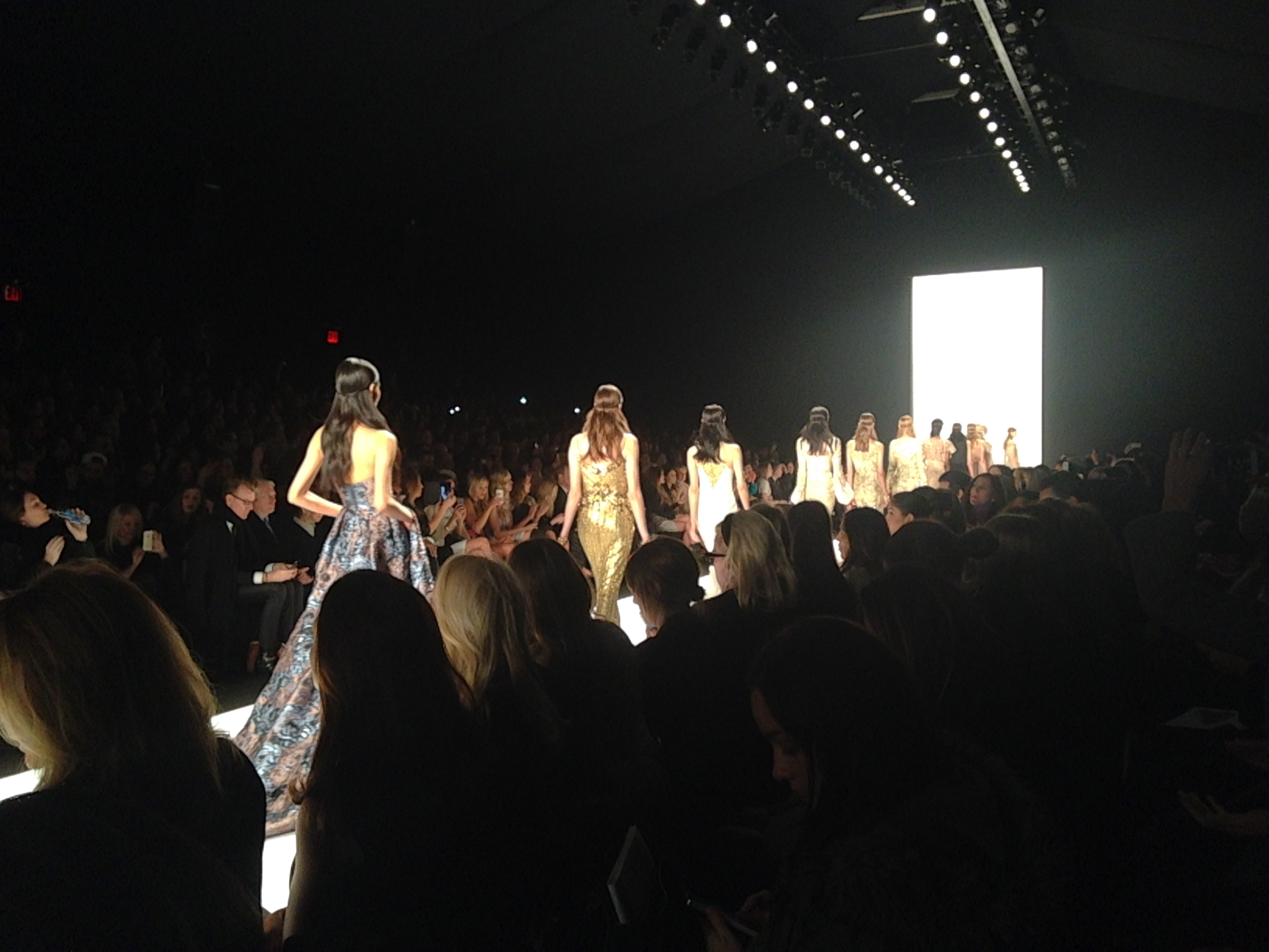 Badgley Mischka, New York Fashion Week & Give Me Mora