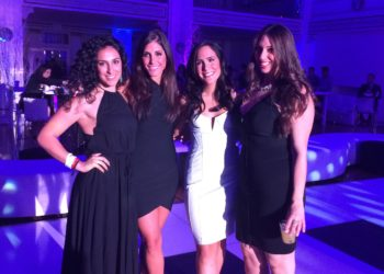 Some of the Kol Ahava girls (Michelle, Stephanie, Nic & Dina)