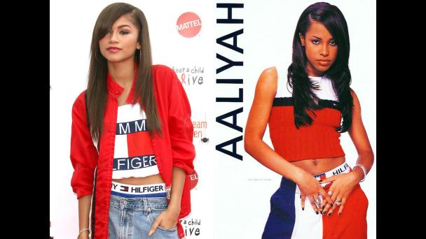 Zendaya Cast As Aaliyah