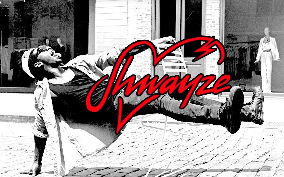 Boy, you crazy. Nah, I'm Shwayze.