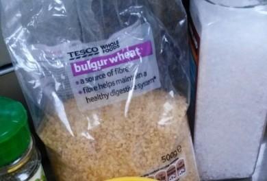 Basil & Lemon Bulgar Wheat