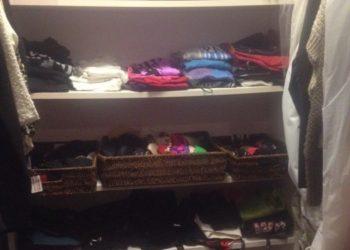 Closet after (sort of)