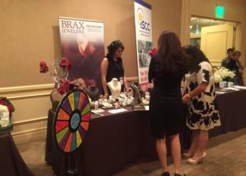 Attendees were also able to shop during the luncheon