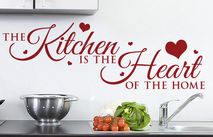 Kitchen-Heart-Red