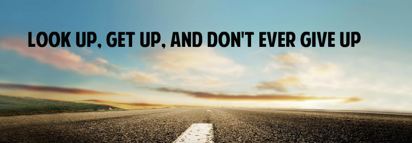 Give Up or Get Up