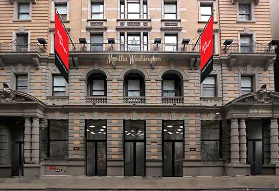 My Stay With The Martha Washington Hotel NYC