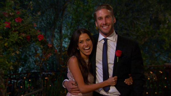 The happy couple, Kaitlyn and Shawn bask in their post-proposal glory on The Bachelorette Finale.
