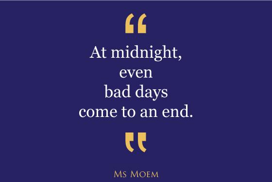 MORAvational Monday: Bad Days