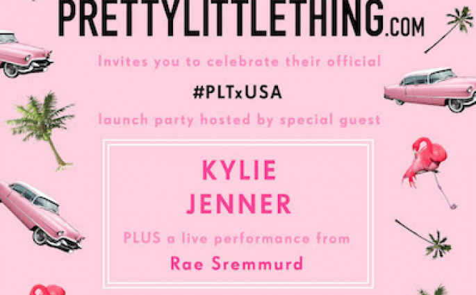 PLT x USA Launch Party With Kylie Jenner