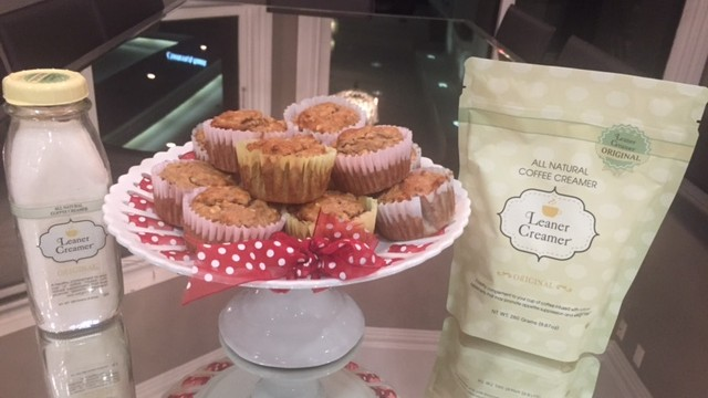 Healthy Muffin Recipe With Leaner Creamer