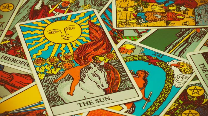 An Unlikely Tarot Card Reading