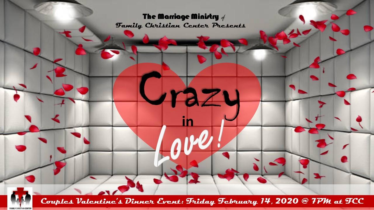 Crazy in Love Dance & Dine Event - Feb 14