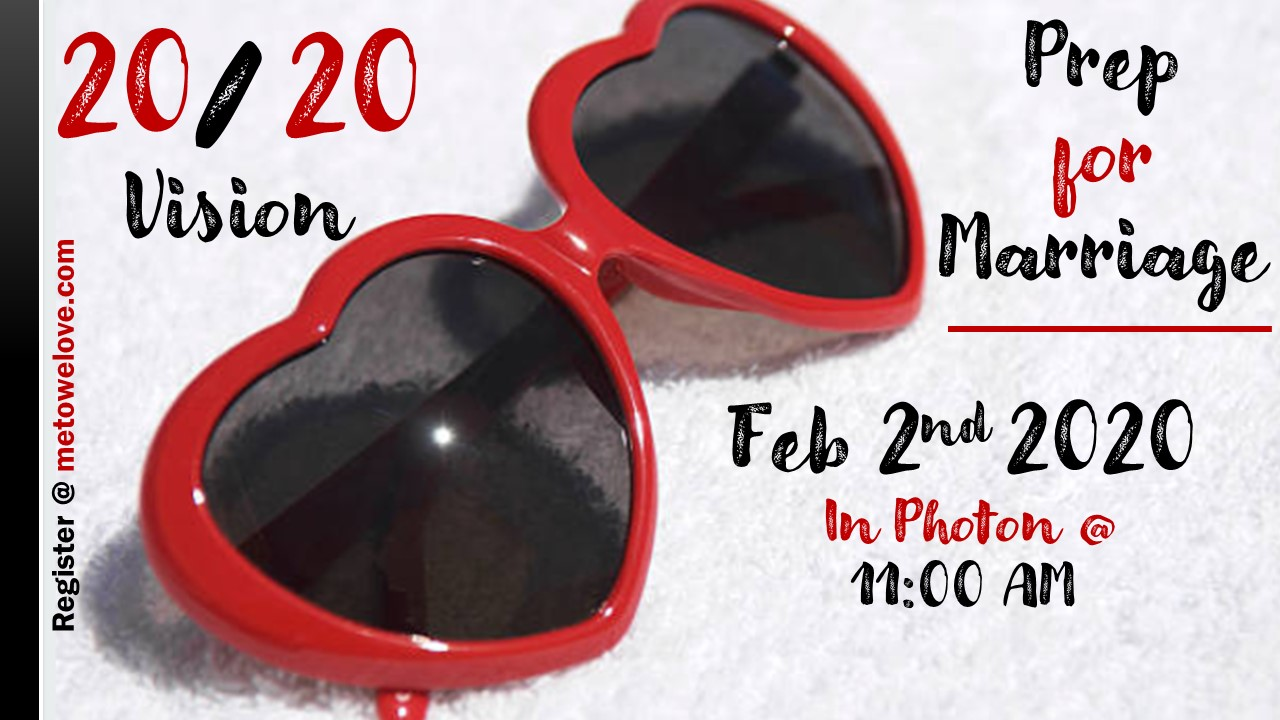 Prep for Marriage - Feb 2, 2020 @ 11AM