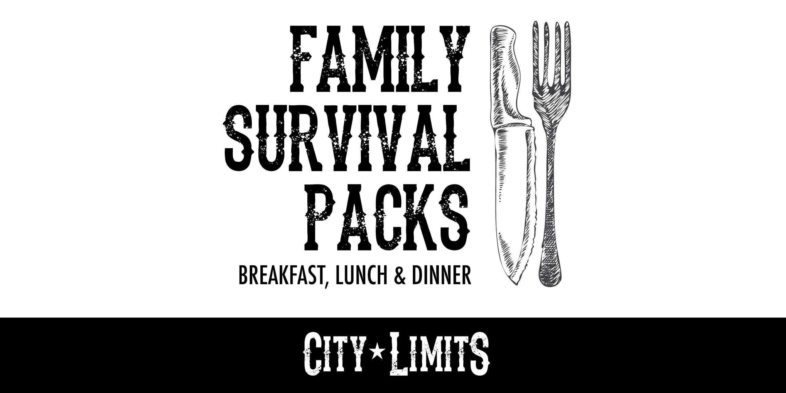Family Survival Packs