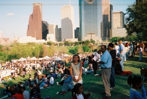 Buffalo Bayou Park, Houston 1994