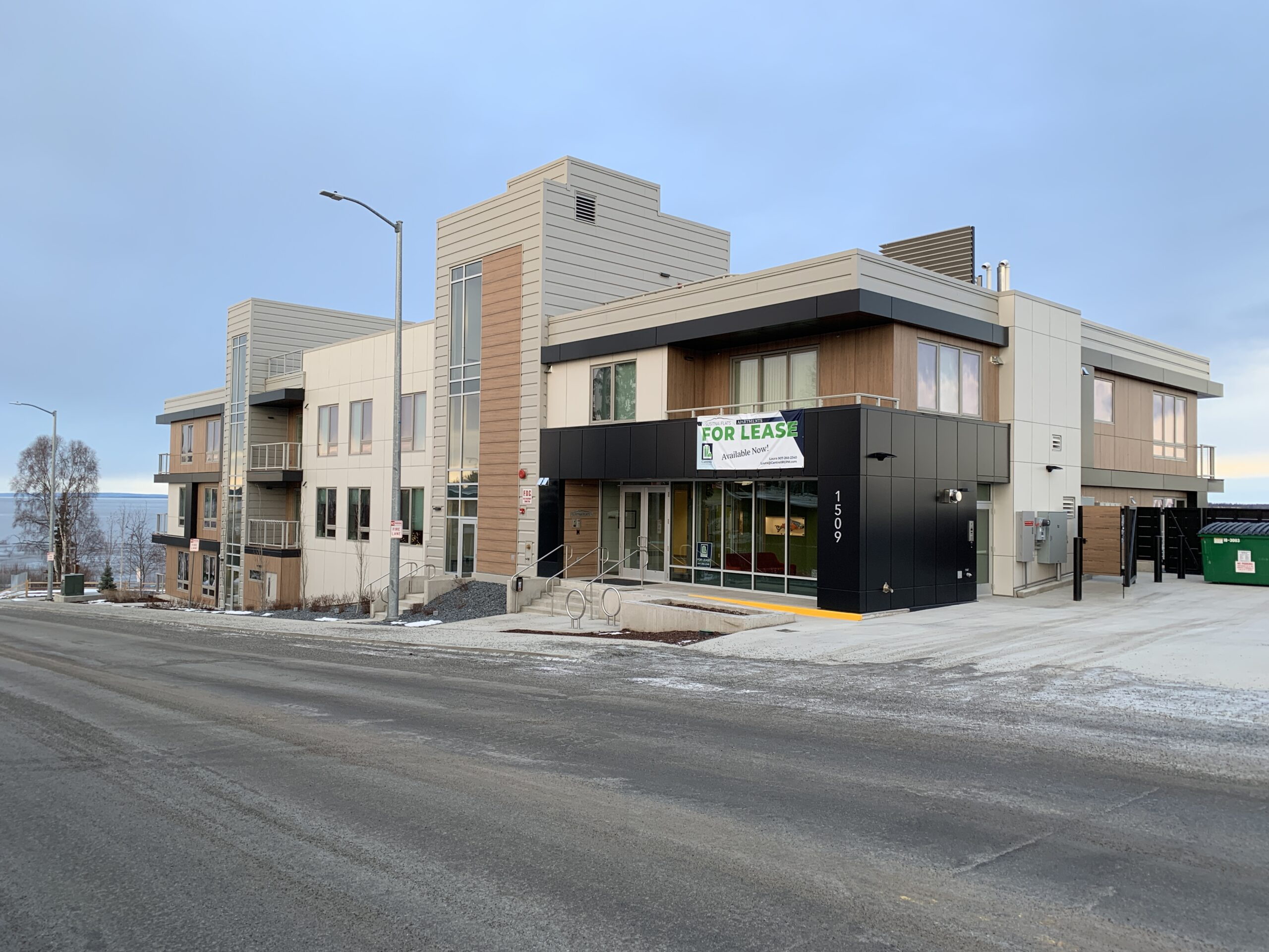 High-end Susitna Flats apartments now leasing