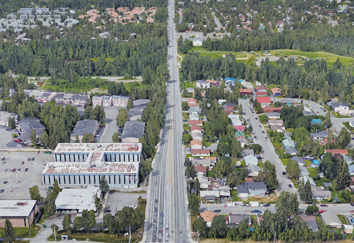 A four-lane death road?