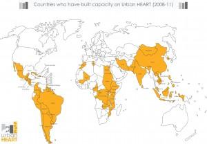 urban heart world map